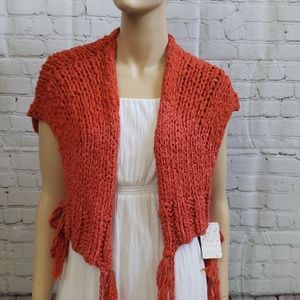 Free people knitted wrap
